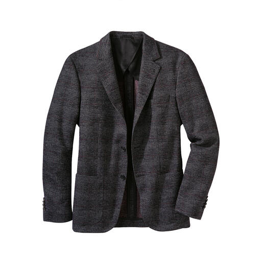 Das businesstaugliche Jersey-Sakko. Komfortabel und doch korrekt. Von Karl Lagerfeld.