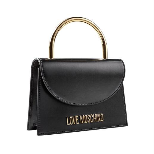 Die Ring-Bag von Love Moschino: modisch genau richtig und preislich erschwinglich. Modisch genau richtig – und preislich erschwinglich: die Ring-Bag von Love Moschino.