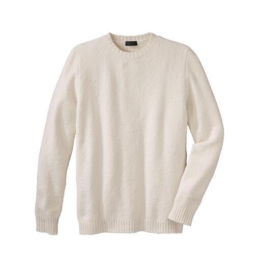 Phil Petter Winter-Baumwoll-Pullover Endlich: die leichte, weiche (und ebenso warme) Alternative zu schweren Woll-Pullovern. Flauschiges Baumwoll-Garn aus Italien.