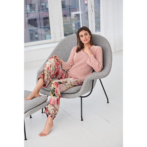 TWINSET Loungewear-Pullover oder -Hose Stylisch ist das neue gemütlich: So trendy kann bequeme Loungewear sein. Von TWINSET.