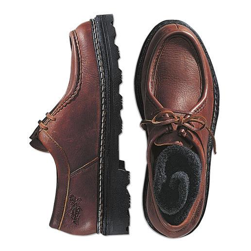 Elchleder-Schuhe - Bequeme Halbschuhe aus butterweichem Elchleder. Jeder Schuh ein Unikat.