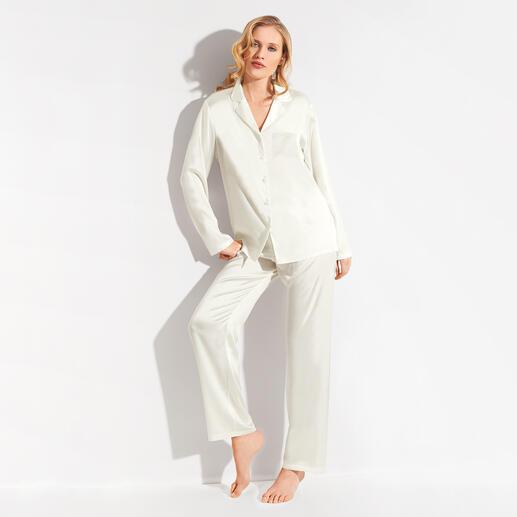Chiara Fiorini Seiden-Pyjama