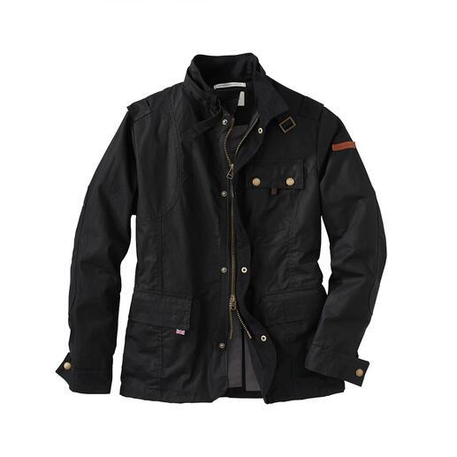 Peregrine Cotton-Wax-Jacke Fashion-Update für die Wachsjacke: Verkürzte Form. Verstärkte Schultern. Viele Taschen …