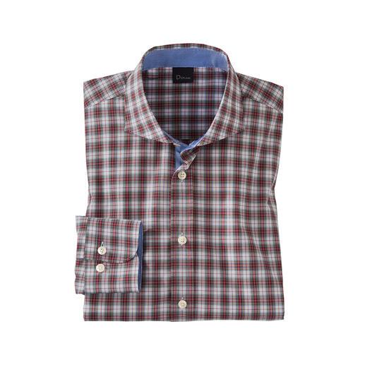 Das feine und leichte unter den authentischen Tartan-Hemden. Mit hochwertigen Schneider-Details konfektioniert von Dorani.