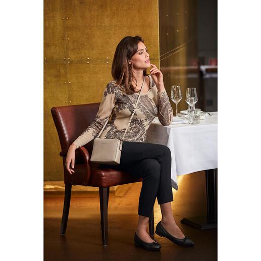 Pashma 30-Gauge-Paisleypullover So luxuriös (und dennoch bezahlbar) sind die wenigsten modischen Print-Pullover.