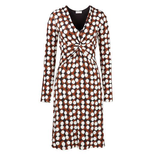 KD Jersey-Kleid Chocdot Schmeichelhafter Schnitt. Kofferfreundliches Material. Guter Preis.