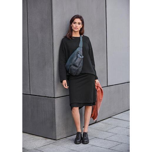 [schi]ess Jersey-Layered-Skirt oder -Sweater