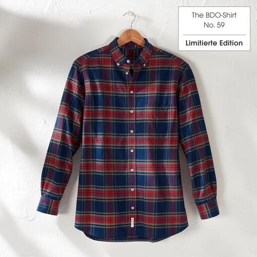 Das lässige Baumwoll-Hemd aus luftig-feinem Oxfordgewebe. The BDO-Shirt: Entdecken Sie einen guten alten Freund. Und vergessen Sie, dass ein Hemd gebügelt werden muss.