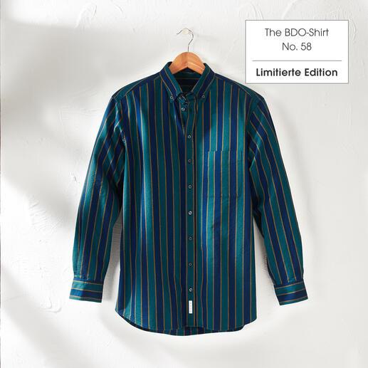 The BDO-shirt, Limited Edition No. 58, Regular Fit Entdecken Sie einen guten alten Freund. Und vergessen Sie, dass ein Hemd gebügelt werden muss.