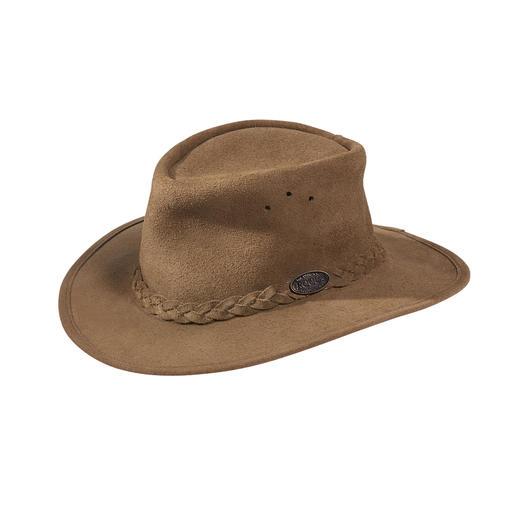 Rogue Veloursleder-Busch-Hut Das Original aus Südafrika: der klassische Busch-Hut für Damen und Herren.