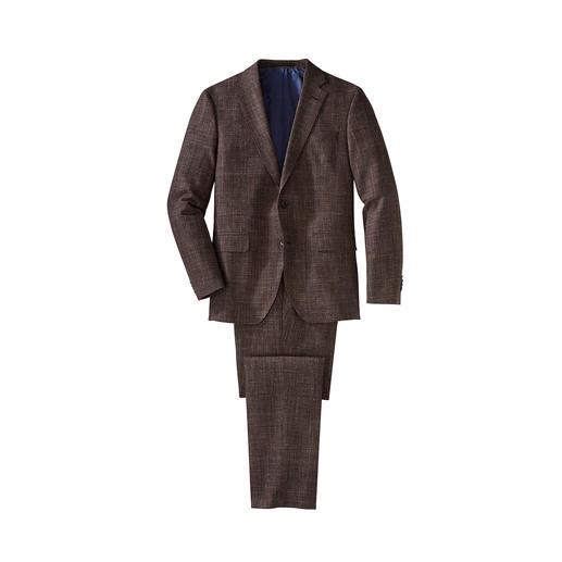 Glencheck-Allrounder-Anzug Passt zu jeder Jahreszeit. Zu jedem Anlass. Und zu allem, was Sie schon im Schrank haben.