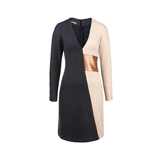 Das figurschmeichelnde Winterkleid aus Wolle und Angora. Von Papaya & Bamboo. Wunderbar wärmend und doch nie auftragend. Zeitlos clean und doch unverkennbar feminin.