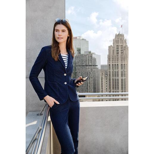 T-Jacket Jersey-Jeans-Anzugjacke oder -Hose