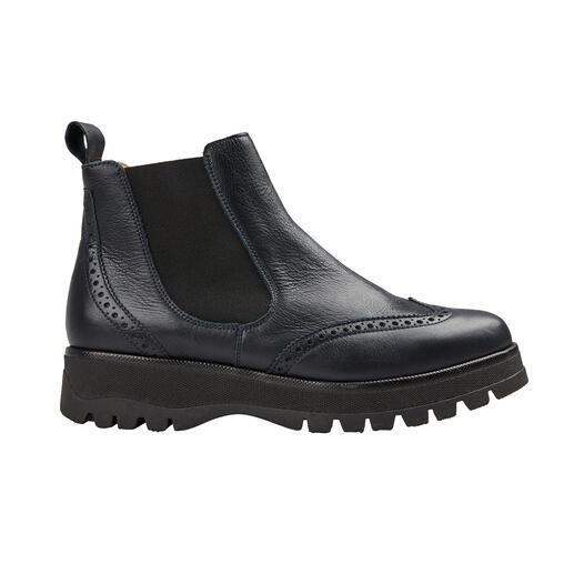 Werner Sporty Chelsea-Boots - Modisch wichtige Form. Super softes Leder. Leichte, isolierende TPR-Sohle.