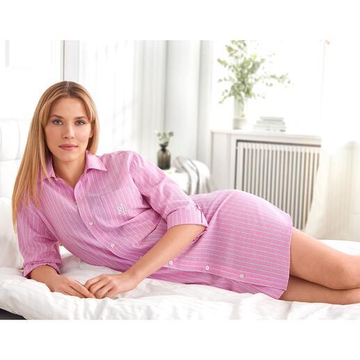 Ralph Lauren Nightshirt Pink Stripes