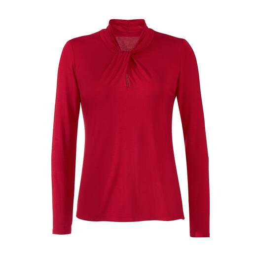 Die Essential-Shirts aus seltenem Tencel™-Jersey. Von LaSalle Amsterdam. Seidig weich. Viel länger schön als einfache Baumwoll-Basics … und viel eleganter und femininer.