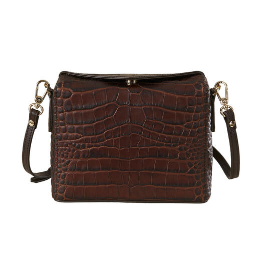 Pourchet Paris Boxy-Bag, Kroko