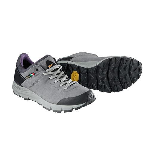 Der perfekte Schuh auf Reisen. Bequem, robust, wasserdicht, leicht und atmend. Ungewöhnlich viel Schuh-Technik zum fairen Preis. Von Zamberlan®, seit 1929.