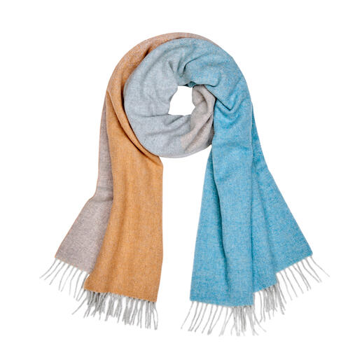 Orange/Beige/Blau/Grau
