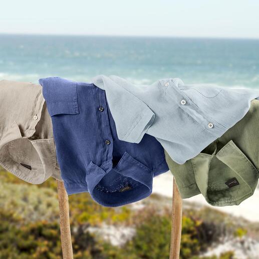 Dorani Vintage-Leinenhemd