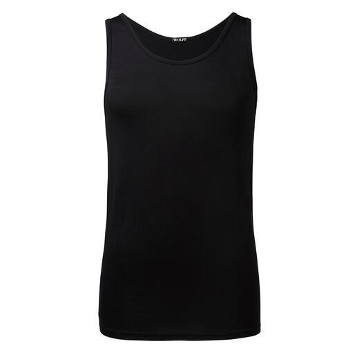 Untershirt, Schwarz