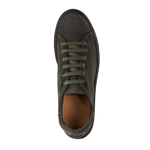 Casanova Perforierter Leder-Sneaker