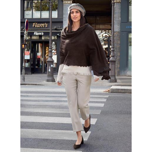 Gran Sasso Fransen-Pullover