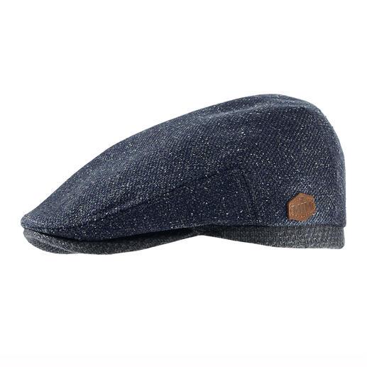 Die Schiebermütze aus seltenem Woll-Seiden-Mix. Von Hut-Spezialist MJM, seit 1829. Nicht zu kalt. Nicht zu warm. Eben genau richtig für die Übergangszeit.