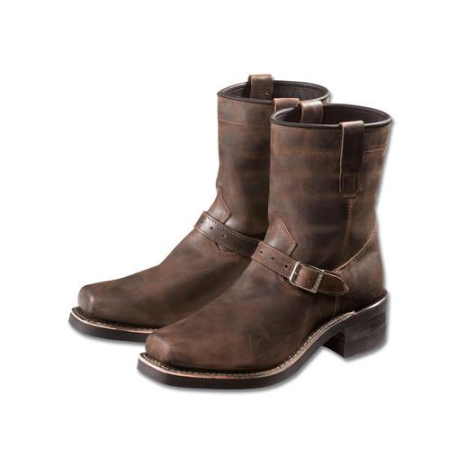 """Dayton-Boots """"Confederate"""" - Endlich auch in Europa. Original Dayton Boots – die Lieblingsstiefel der US-Stars."""
