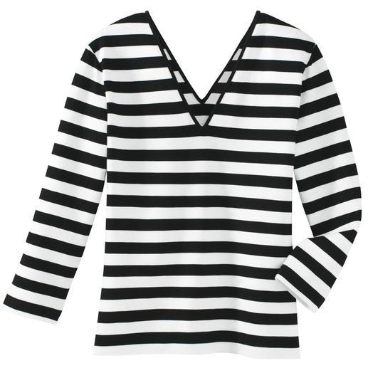 Zauber-Shirt Nur richtig in Schwarz/Weiß.