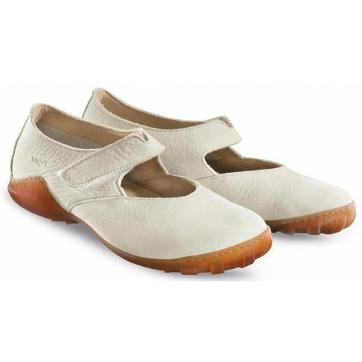 Arcus® Nubuk Ballerina Robust genug für Wind und Wetter. Samtweich zu nackten Füßen.