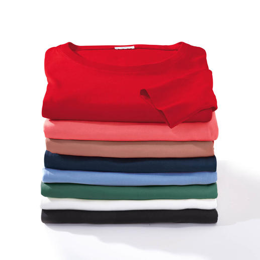 Wolff-T-Shirt - Aus feinster, mercerisierter Baumwolle.