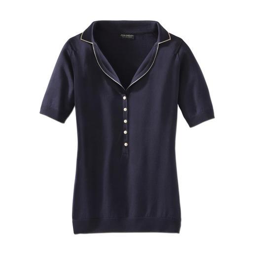 John Smedley-Polo - Die Herstellung dieses Shirts dauert 60 Stunden. Den Unterschied spüren Sie in Sekunden.