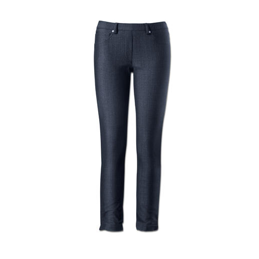Blue Denim Jeggings - Jeggings: Bequemlichkeit einer Leggings. Optik einer knackigen Jeans.
