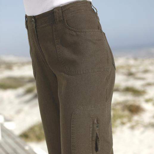 Tencel®-Leinen-Komforthose Luftig leicht, schick und herrlich bequem.
