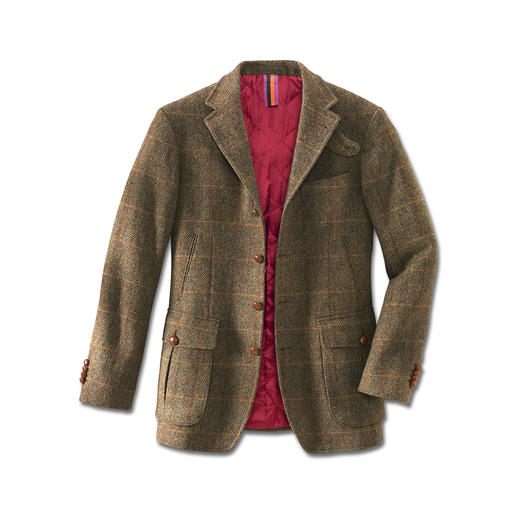 "Hunting-Jacket ""Irish Tweed"" Warm gefüttert: das Hunting Jacket aus seltenem irischen Tweed."