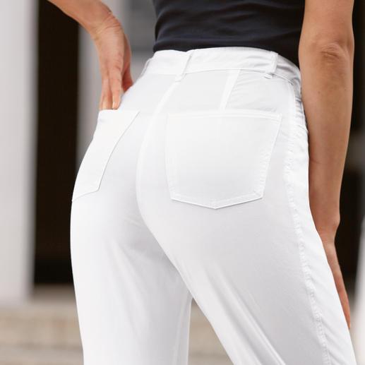 30 °C-Stretch-Jeans Jetzt sogar für den Hochsommer. Durch 2 % Elasthan 100 % bequemer.