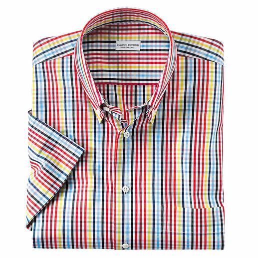 Sommerfrisches Karo-Kurzarmhemd Das Sommer-Hemd, das zu allen Unis passt. Erfrischendes Karo-Dessin.