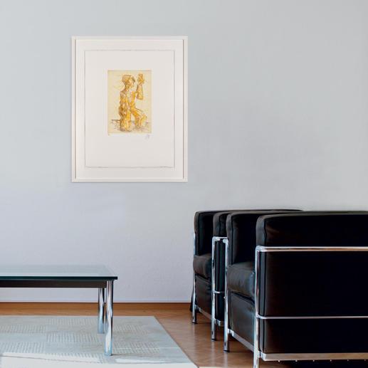 Ein charakteristisches Werk – es gibt nichts annähernd Vergleichbares auf dem Kunstmarkt.