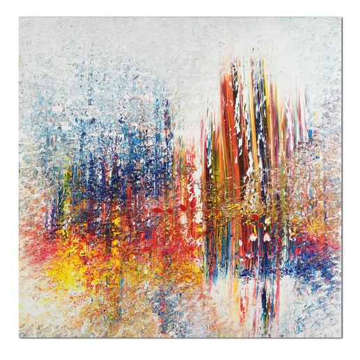 Benno Werth – Schichtarbeit - Exklusiv für Pro-Idee: Prof. Benno Werth editiert erstmals sein Lieblingswerk. Der erfolgreiche Künstler firnisst jedes der 20 Exemplare von Hand. Maße: 100 x 100 cm
