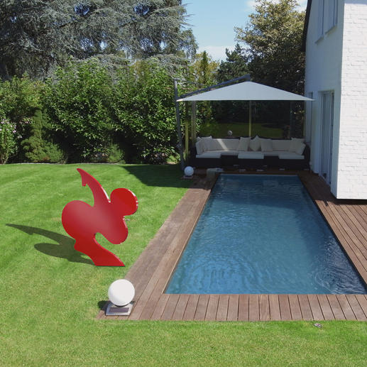 """Ein Highlight in Ihrem Garten: die 100 cm große """"SAPRI""""."""