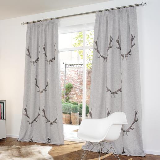 """Vorhang """"G'weih"""", 1 Vorhang Verdunkelung, passend zum angesagten Alpen- und Chalet-Chic."""