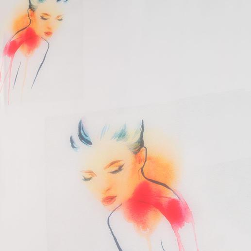 """Store """"Mademoiselle"""", 1 Store Das Beste aus Pop-Art, Aquarellmalerei und Portraitzeichnung."""