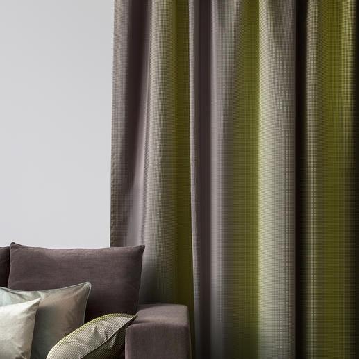 """Vorhang """"Care"""", 1 Vorhang Dauerhafter Changeant-Effekt. Unabhängig von Entfernung, Blickwinkel, Lichteinfall, ..."""