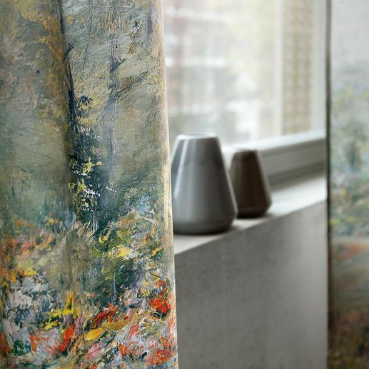 """Vorhang Painting - 1 Stück Textil Kollektion """"Voyage""""."""