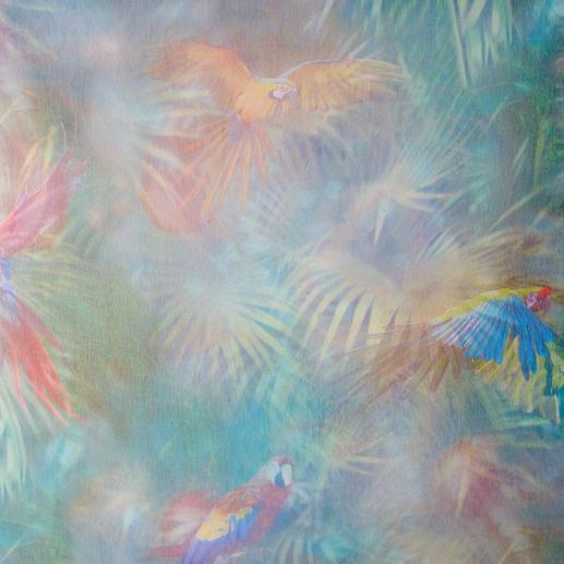 Store Caura - 1 Stück Faszination Dschungel: Trotz satter, dunkler Farben licht und leicht.