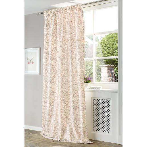 """Vorhang """"Anastasia"""", 1 Vorhang - Reine Seide, kunstvoll bedruckt und komplett gefüttert."""