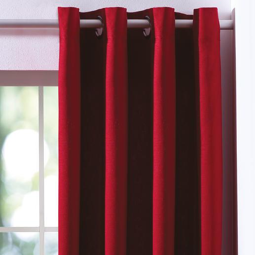 Vorhang Concordia - 1 Stück Moderner Ösen-Vorhang aus pflegeleichter Baumwolle zum super Preis-/Leistungsverhältnis.