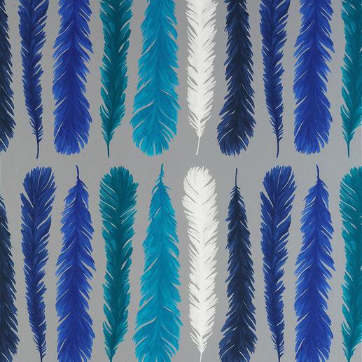 """Vorhang """"Feather"""", 1 Vorhang Blockstreifen auf leichte Art."""