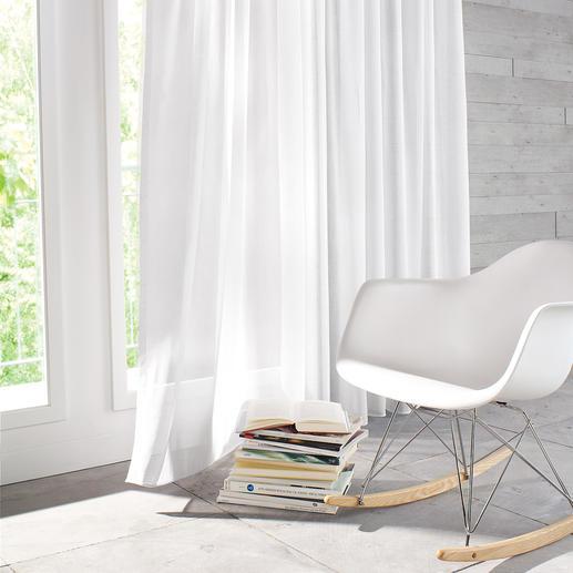 Vorhang Alpes - 1 Stück - Leinen-Optik für den Natural-Living-Trend. Unempfindlich gegen Knitterfalten.